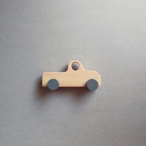 wooden kid retro toy truck