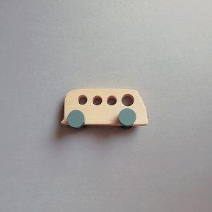 wooden kids toy van