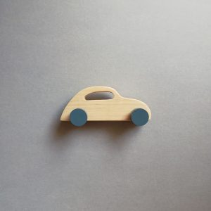 wooden kid retro toy sport car
